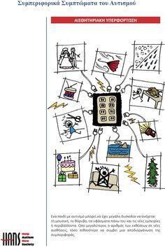Ο αυτισμός εικονογραφημένος » 8ο Δημοτικό Σχολείο Ελευθερίου-Κορδελιού Map, Education, Comics, Casual Chic, Social Stories, Children With Autism, Counseling, Caregiver, Kids Psychology