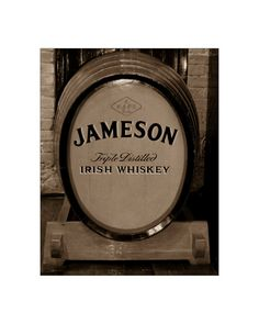 Etsy Exclusive! Jameson Cask 11x14 by WhiskyCastPhotos on Etsy, $50.00