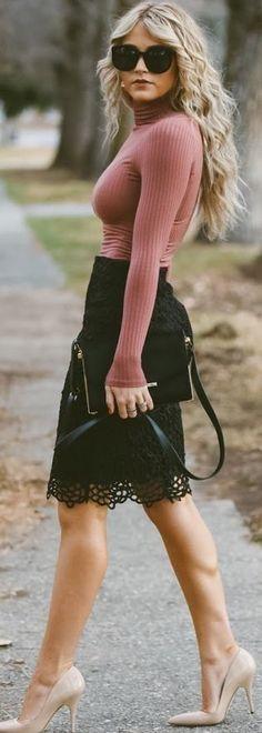 Faites le pleiη d'inspiration avec notre sélection des plus beaux pins du net à découvrir sur le βlog ► blog.dressingtendance.com - (image source @ lolobu)  #styleinspiration #fashioninspiration
