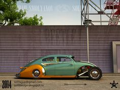 Solifague Design: VW Beetle Custom.