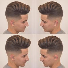 Haircut by jose_pvlgbarbershop http://ift.tt/1SjqPMo #menshair #menshairstyles #menshaircuts #hairstylesformen #coolhaircuts #coolhairstyles #haircuts #hairstyles #barbers