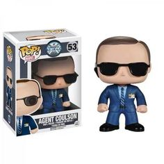 Funko POP Vinyl Agent Coulson - Tahiti - it's a magical place!