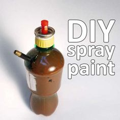 DIY spray paint - when you need that ONE color no one makes