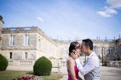 Wedding pics in Château Saint Georges http://www.prettydays.fr/joe-celia-love-session-saint-emilion/