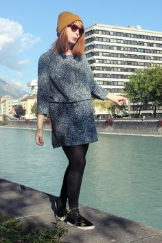 kitschick_herbstlook Innsbruck Innsbruck, Contrast, Autumn, Sweaters, Shopping, Dresses, Fashion, Vestidos, Moda
