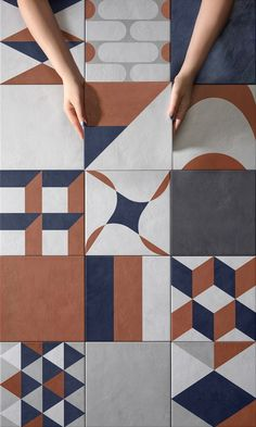 Character, Colour and Materia Floor Patterns, Wall Patterns, Textures Patterns, Floor Design, Tile Design, Pattern Design, Wall And Floor Tiles, Wall Tiles, Cement Tiles