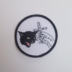 Image of Black Cat Patch