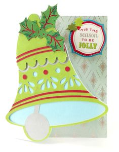 Christmas 2014 - Christmas Kitsch Cricut cartridge. The cartridge is packed with card surfaces, embellishments, tags and envelopes!