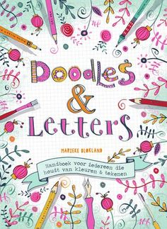 Doodles en Letters (E-book) Bujo Doodles, Love Doodles, Simple Doodles, Hand Lettering Alphabet, Doodle Lettering, Bullet Journal Lettering Ideas, Bullet Journal Ideas Pages, Doodle Art For Beginners, Doodle Paint