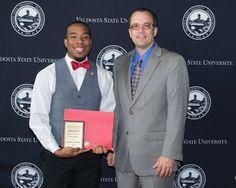 Landis Johnson of Hinesville is the recipient of Valdosta State University's 2016 Sigma Alpha Chi Mac Award.