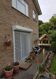 Our domestic punched roller shutter is best suited if you are searching for security as well as some light and air flow; securing rear french door in New Barnet. Roller Doors, Roller Shutters, Window Shutters, Security Shutters, Security Doors, French Windows, French Doors Patio, American Shutters, Rolling Shutter