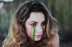 I cry rainbows and glitter