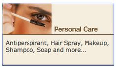 Government site that lists TOXINS in  Personal Care Products: Antiperspirant, Hair Spray, Makeup, Shampoo, Soap and more...