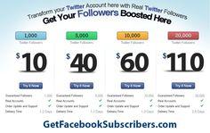 Get Twitter Followers  http://www.TheSocialMediaStore.com