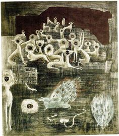 leonora carrington - cats - unknown year