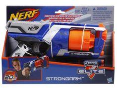 Nerf N-Strike Elite - Strongarm com 3 Dardos - Hasbro com as melhores condições você encontra no Magazine Vitoriagraciele. Confira!