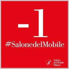 Siamo pronti anche noi a raggiungere #Milano per il  Salone del Mobile 2016. Vi terremo aggiornati su tutte le novità dal mondo del #design, dell'#arredamento e dell' #archiettura con foto e video della nostra visita presso i #Saloni