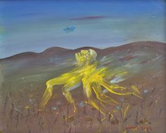 View Yellow Nebuchadnezzar Running in a Hilly Landscape by Arthur Merric Bloomfield Boyd on artnet. Browse upcoming and past auction lots by Arthur Merric Bloomfield Boyd. Arthur Boyd, Australian Painters, Expressionist Artists, Famous Words, Late 20th Century, Impressionist, Surrealism, Past, Contemporary Art