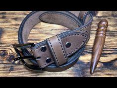 (202) Ремень поясной/брючный из кожи Чепрак от #wildleathercraft - YouTube Leather Belts, Youtube, Bracelets, Jewelry, Craft Ideas, Leather, Easy Storage, Leather Working, Jewlery