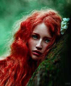 by Светлана  Беляева on 500px / Photography / Woman / Redhead