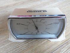 Vintage+Deco+Smiths+Bakelite+Desk+Thermometer+-+Advertising+Clensol