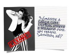 Preto e branco: Tendência | Dani Romani Consultoria de Imagem | black and white | fashion \ trend | elegance | prefect | combinação | verão 2014 |