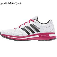 Adidas Women Revenergy Boost running shoes white/black/Bay high HOT SALE! HOT PRICE!