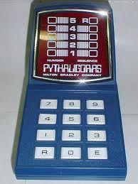 Best Xmas present from my grandpa. Game Google, Milton Bradley, Mini Hands, Video Game, Childhood, Xmas, Toy, Google Search, Blue