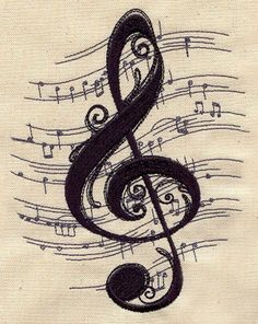 """music tattoo, my though.""""alt=""""Pretty music ta""""/></br></br>Pretty music tattoo, my thought is our wedding song in the background More</br> Music Love, Good Music, Music Music, Piano Music, Musik Wallpaper, Goku Wallpaper, Heart Wallpaper, Bedroom Wallpaper, Music Drawings"""