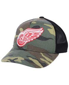 520e6a0dca1   Men s Minnesota Wild Fanatics Branded Camo Recon Trucker Adjustable Hat