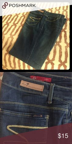 Seven boot cut jeans Boot cut jeans.  Gently worn. Seven7 Jeans Boot Cut