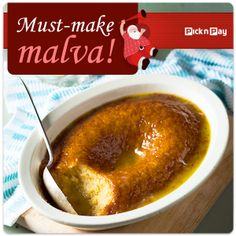 No season would be complete without this sweet, gooey, buttery treat. Pudding Desserts, Pudding Recipes, No Bake Desserts, Weight Watchers Smart Points, Weight Watchers Meals, Malva Pudding, South African Recipes, Recipe Search, Food For Thought