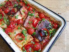Plachie de peste (3) Good Food, Yummy Food, Romanian Food, Bruschetta, Meatloaf, Vegetable Pizza, Pork, Food And Drink, Tasty