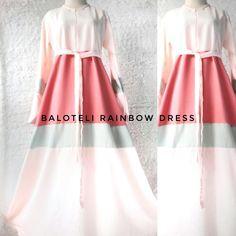 #abaya #rainbow #dress