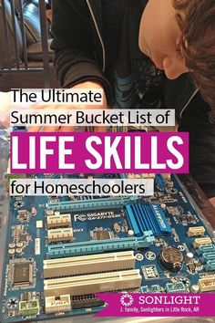 Summer is the perfect time to work on life skills. Kids get a boost of confidenc… Summer is the perfect time to work on life skills. Kids get a boost of confidence and a break from academics as they learn how to take care of themselves. Teaching Kids, Kids Learning, Life Skills Kids, Skills To Learn, Summer School, Summer Time, Summer Fun, High School, Parenting Teens