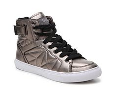 Guess MID - High-top trainers - hellgrau