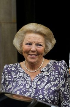 Dutch Royal Highness Princess Beatrix of the Netherlands attends the opening of the exhibition 'The Palace and Dam Square on 27th June 2013