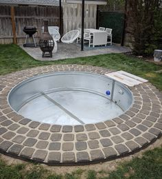 Small Backyard Design, Small Backyard Patio, Backyard Ideas, Backyard Landscaping, Pool Ideas, Decking Ideas, Stock Pools, Stock Tank Pool, Piscina Diy