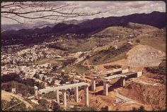 A New Toll Road Is Being Built between San Juan and Ponce. This Section Is at Cayey 02/1973   by The U.S. National Archives