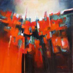 "Saatchi Online Artist Joseph Hutchinson; Painting, ""WHITE MESA"" #art"