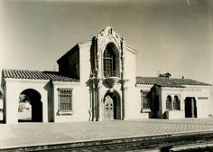 Claremont, CA Depot - circa 1927