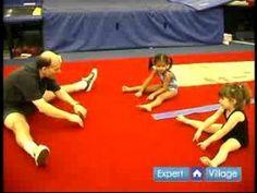 How to Teach Preschool Gymnastics : Warm Up Exercises for Preschool Gymnastics