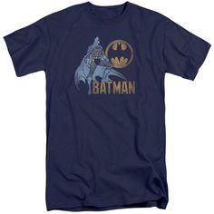 Batman - Knight Watch Short Sleeve Adult Tall