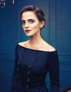 Emma Watson by Art Streiber for Beauty and the Beast, 2017.