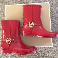 Brand new Michael Kors boots New in box Michael Kors Shoes Winter & Rain Boots