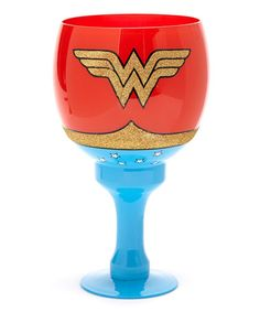 Take a look at this Wonder Woman Goblet by Silver Buffalo on #zulily today!
