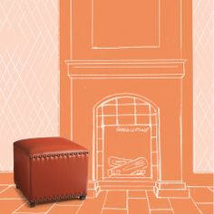 I chose Burnt Orange as my inspiration for the Grandin Road Color Crush Design Challenge. Visit grandinroad.com/colorcrush to enter now through March 7,2014 for a chance to win up to $2,500 to spend at Grandin Road.