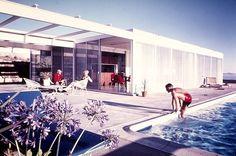 Pierre Koenig's - 1962 - The Oberman House, Rancho Palos Verdes CA