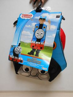 Thomas The Tank Engine NEW 2 PC Halloween Costume Train Costume SIZE 4+ Boys #Rubies #CompleteOutfit