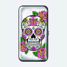 Sales Producers Inc. Sugar Skulls, Phone Cases, Wallet, Day, Pocket Wallet, Candy Skulls, Phone Case, Sugar Skull, Purses